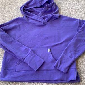 Victoria's Secret Sport purple fleece hoodie